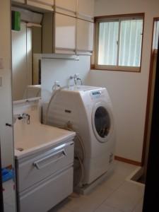 渚のリホーム2 洗面脱衣室