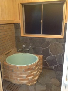 トコロ建業の五右衛門風呂